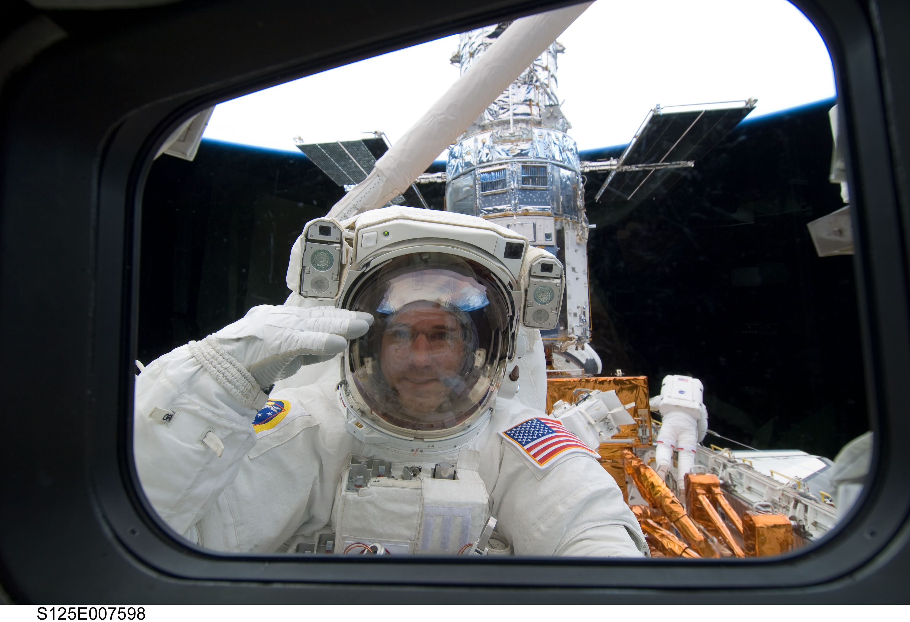 So, astronaut Mike Good, what's it like to go into space ...